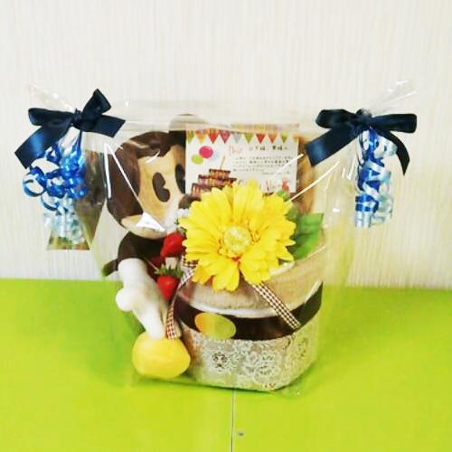ミッキーのおむつケーキ|ベビーギフト.com