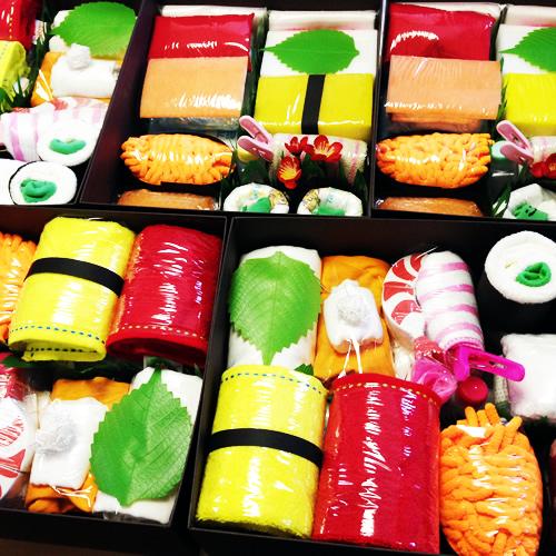 登場以来大人気の「おむつ寿司」