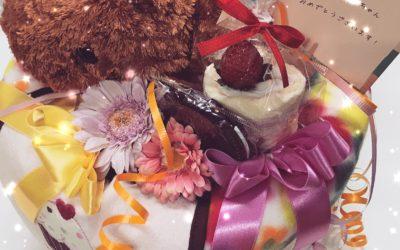 カピバラさんのオーダーメイドおむつケーキ