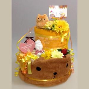 カピバラさんのおむつケーキ
